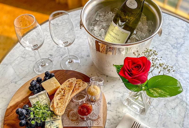Westgate Hotel - VIP Guest Amenity House Wine (Red or White, 750 ML) + Cheese Board $43